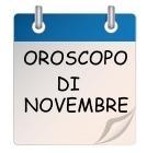 oroscopo di novembre