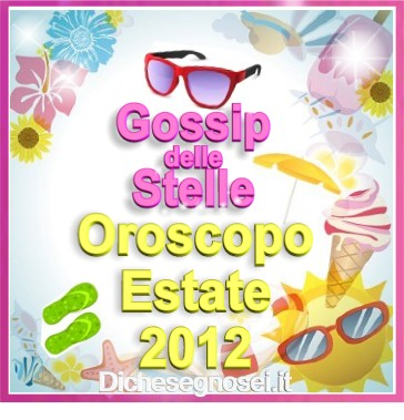 oroscopo estate 2012