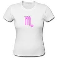 t-shirt adatta alla donna Scorpione